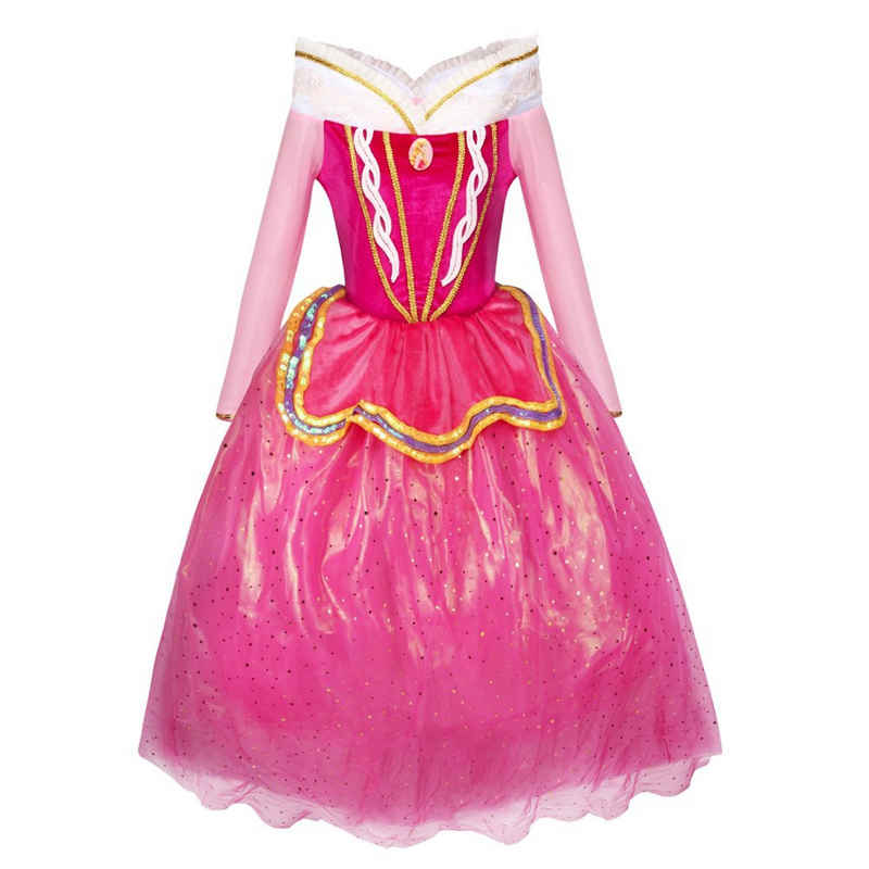 Katara Prinzessin-Kostüm »Märchen Prinzessin Kostüm-Kleid für Mädchen inspir«