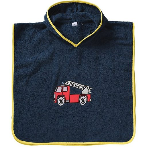 Badeponcho »Frottee-Poncho Feuerwehr«, Playshoes