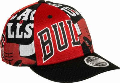 New Era Snapback Cap »NBA All Over Low Profile 9Fifty Chicago Bulls«