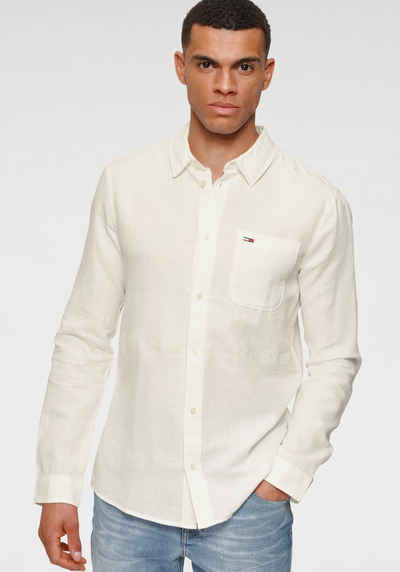 Tommy Jeans Leinenhemd »TJM LINEN BLEND SHIRT«