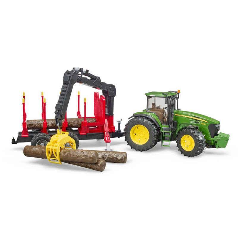 Bruder® Spielzeug-Traktor »John Deere 7930 mit Rückeanhänger«
