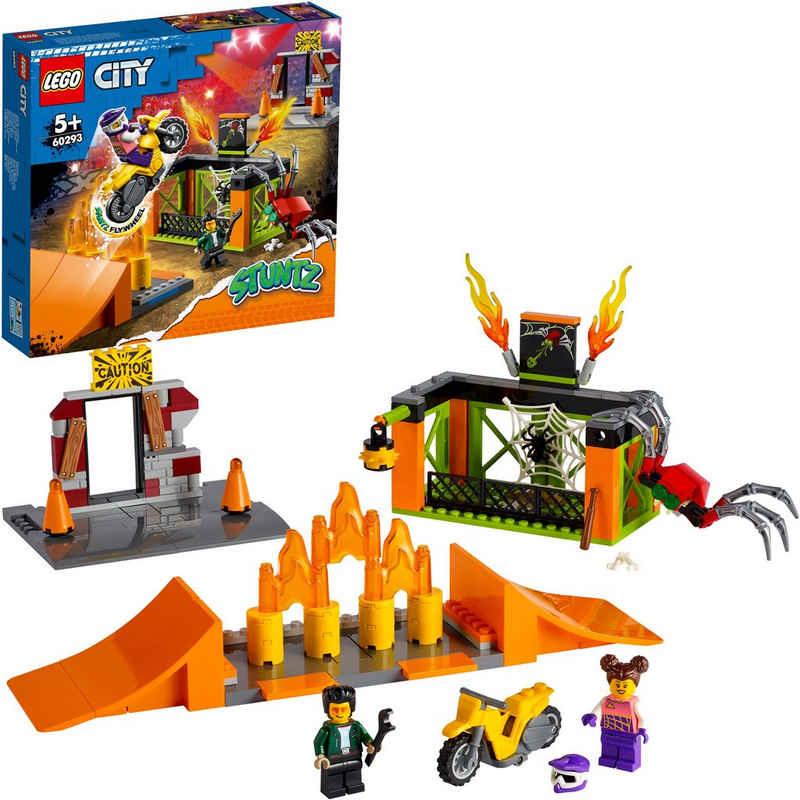LEGO® Konstruktionsspielsteine »Stunt-Park (60293), LEGO® City Stuntz«, (170 St)