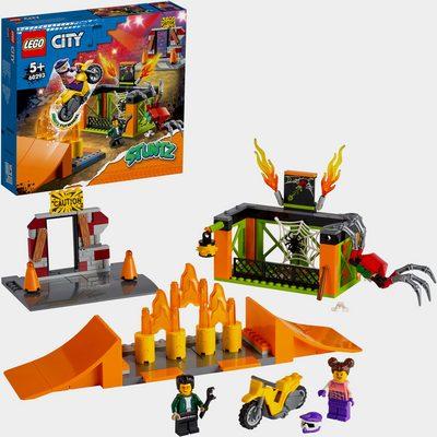 Konstruktionsspielsteine »Stunt-Park (60293), LEGO® City Stuntz«, (170 St)