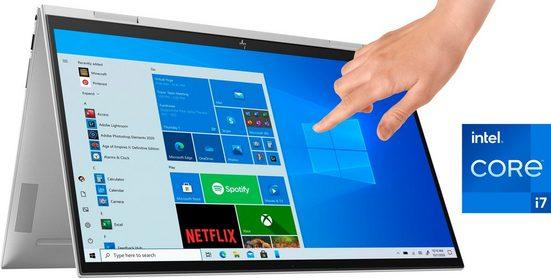 HP ENVY x360 Convert 15-es0276ng Convertible Notebook (39,6 cm/15,6 Zoll, Intel Core i7, Iris Plus Graphics, 512 GB SSD, Kostenloses Upgrade auf Windows 11, sobald verfügbar)