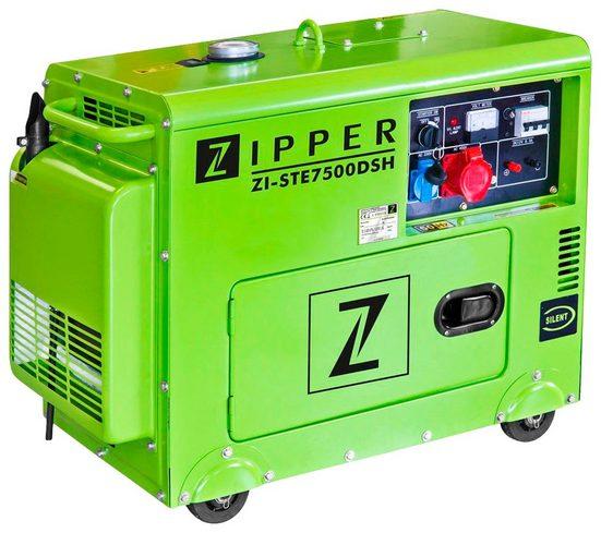 ZIPPER Stromerzeuger »ZI-STE7500DSH«, 5,9 in kW