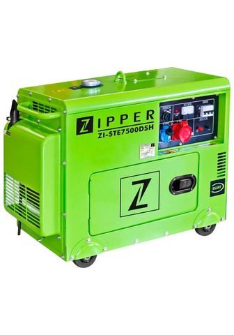 ZIPPER Stromerzeuger »ZI-STE7500DSH« 59 in kW...