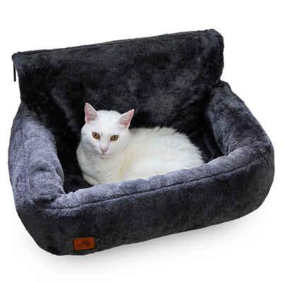 SCHLITZOHR Katzen-Hängematte, Polyester, Katzenbett Lucky für die Heizung, Heizungsliege waschbar, Hängematte für Katzen, Heizkörper Liege, Liegemulde, Kuschelbett