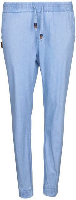 Hosen - Alife Kickin Jogger Pants »AliciaAK« lässige Joggpants im Jeanslook mit Seitentaschen › blau  - Onlineshop OTTO