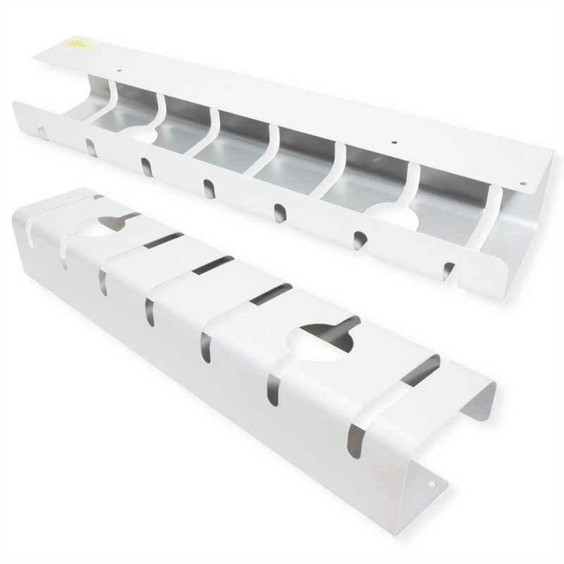 ROLINE Kabelführung »Kabelkanal, Untertischmontage (2 Stück)«