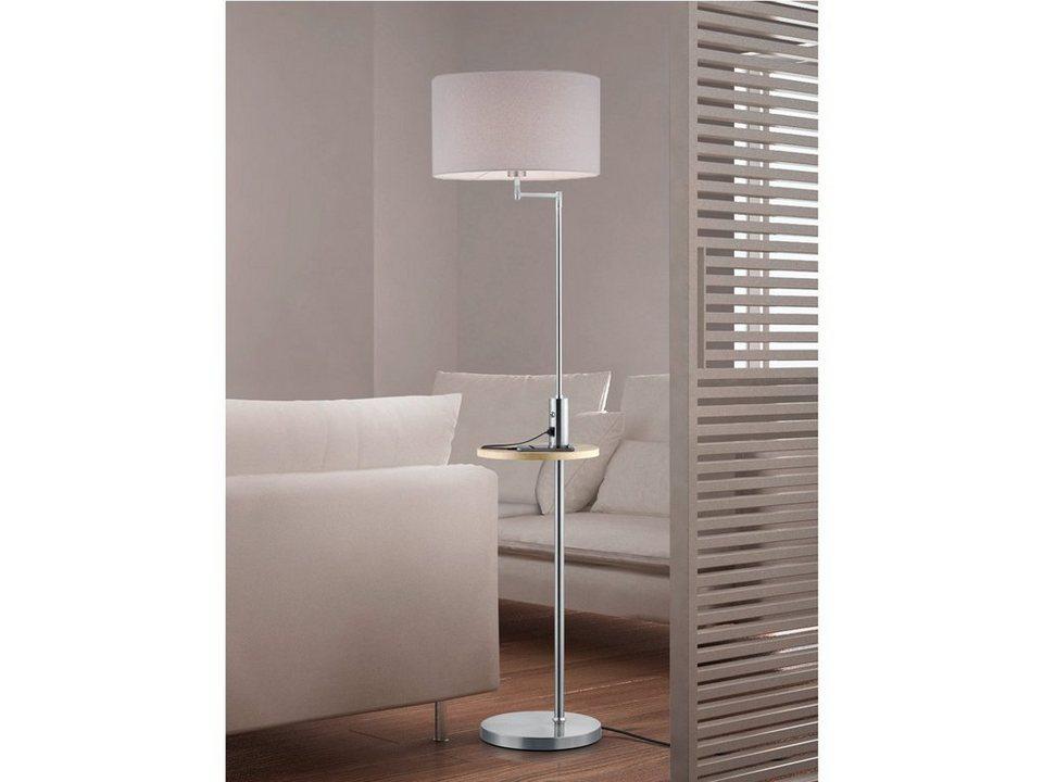Leuchten Leuchtmittel Trio Design Standleuchte Mit Led Stehlampe Wohnzimmer Lampenschirm Stoff Grau Buro Schreibwaren Blog Vr Com Br