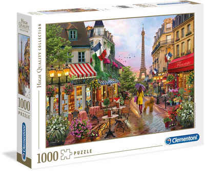 Clementoni® Puzzle »High Quality Collection - Blumen in Paris«, 1000 Puzzleteile, Made in Europe