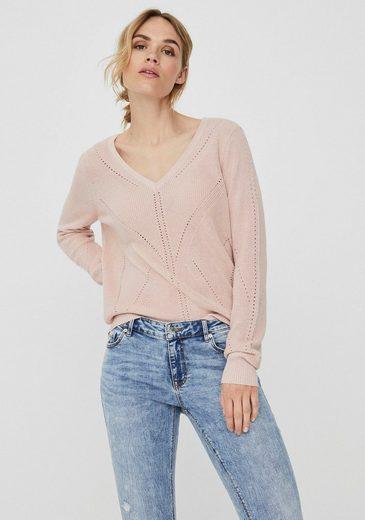 Vero Moda V-Ausschnitt-Pullover »VMNEWLEXSUN«