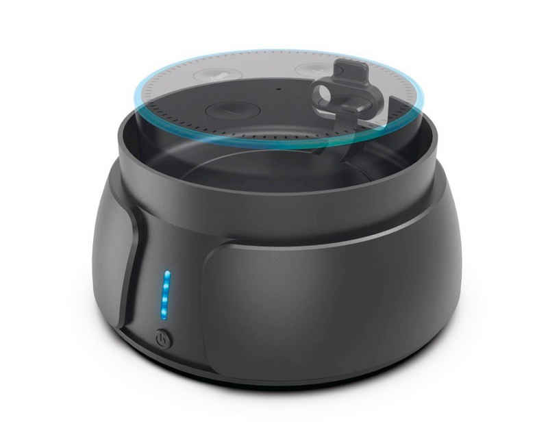 Hama »Hama Power Pack Akku für Amazon Alexa Echo Dot 2 2nd Gen Speaker Lautsprecher« Akku-Ladestation (6000 mAh mA, Drahtlos und tragbar, bis zu 10h Akkiu)