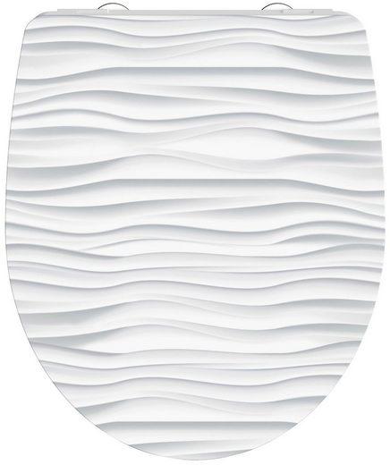 Schütte WC-Sitz »White Wave«, mit Absenkautomatik