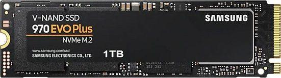 Samsung »970 EVO Plus NVMe™ M.2 1 TB« interne SSD (1 TB) 3500 MB/S Lesegeschwindigkeit, 3300 MB/S Schreibgeschwindigkeit)