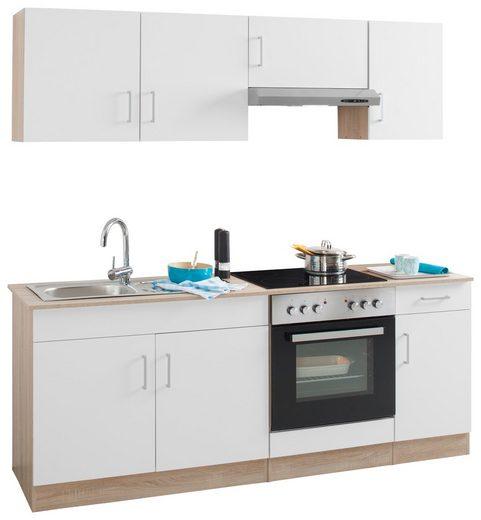 HELD MÖBEL Küchenzeile »Melbourne«, mit E-Geräten, Breite 200 cm