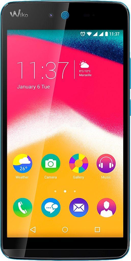 Wiko Rainbow JAM Smartphone, 12,7 cm (5 Zoll) Display, Android 5.1 Lollipop, 8GB interner Speicher