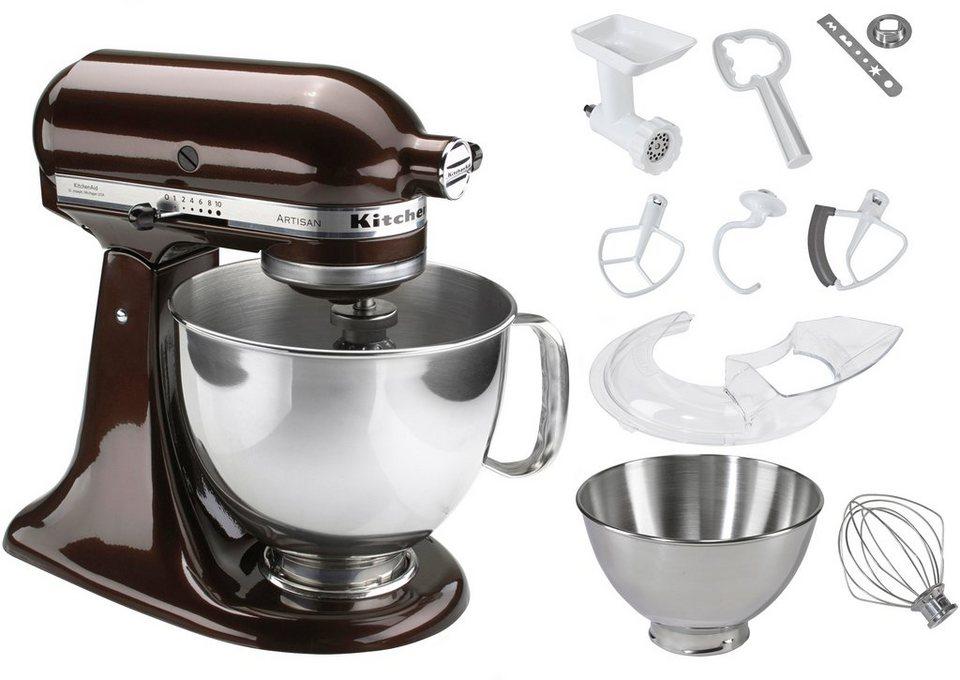 KitchenAid® Küchenmaschine 5KSM1175PSEES Artisan, inkl Sonderzubehör im Wert von ca. 106,-€ in braun