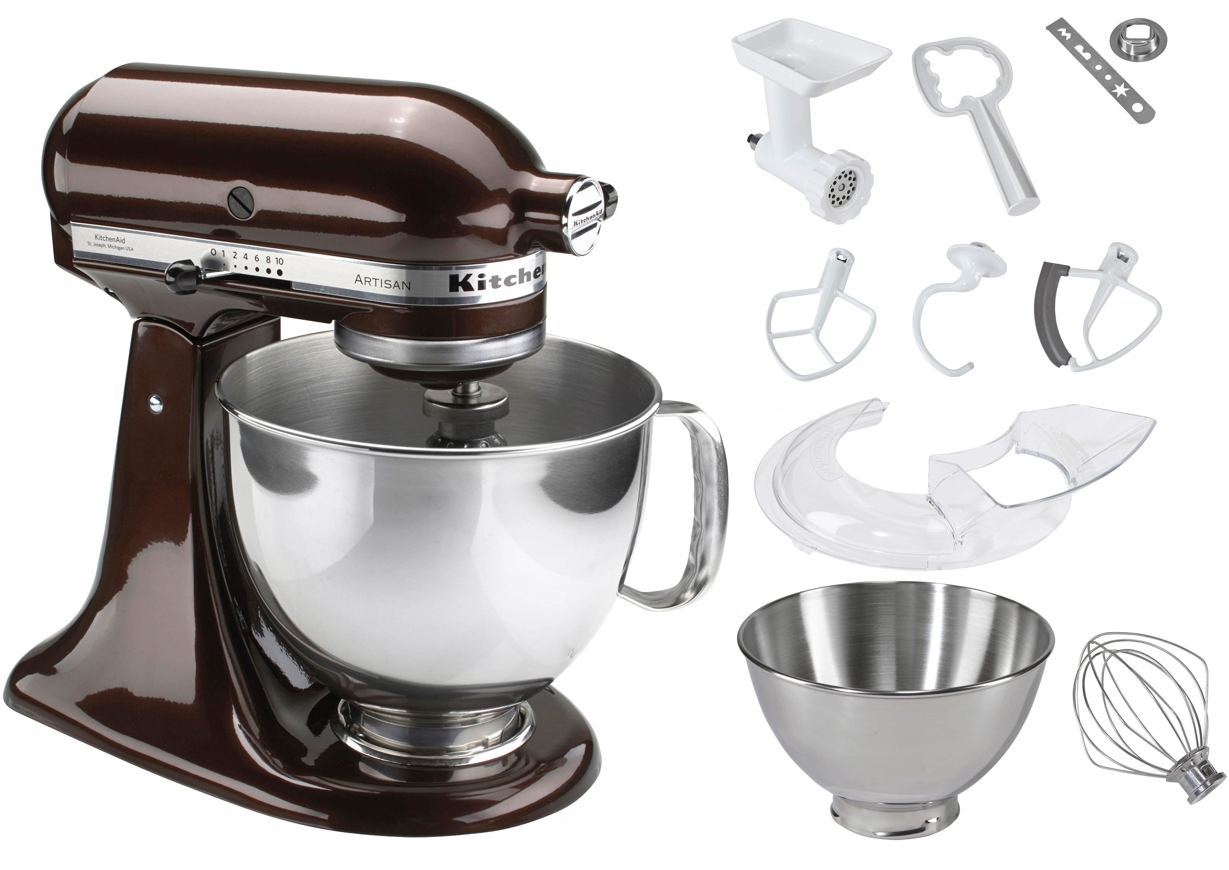 KitchenAid® Küchenmaschine 5KSM1175PSEES Artisan, inkl Sonderzubehör im Wert von ca. 106,-€
