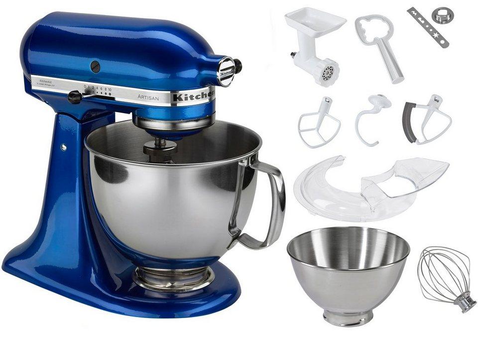 KitchenAid Küchenmaschine 5KSM150PSEEB Artisan, mit Sonderzubehör im Wert von ca. 214,-€ in brilliantblau