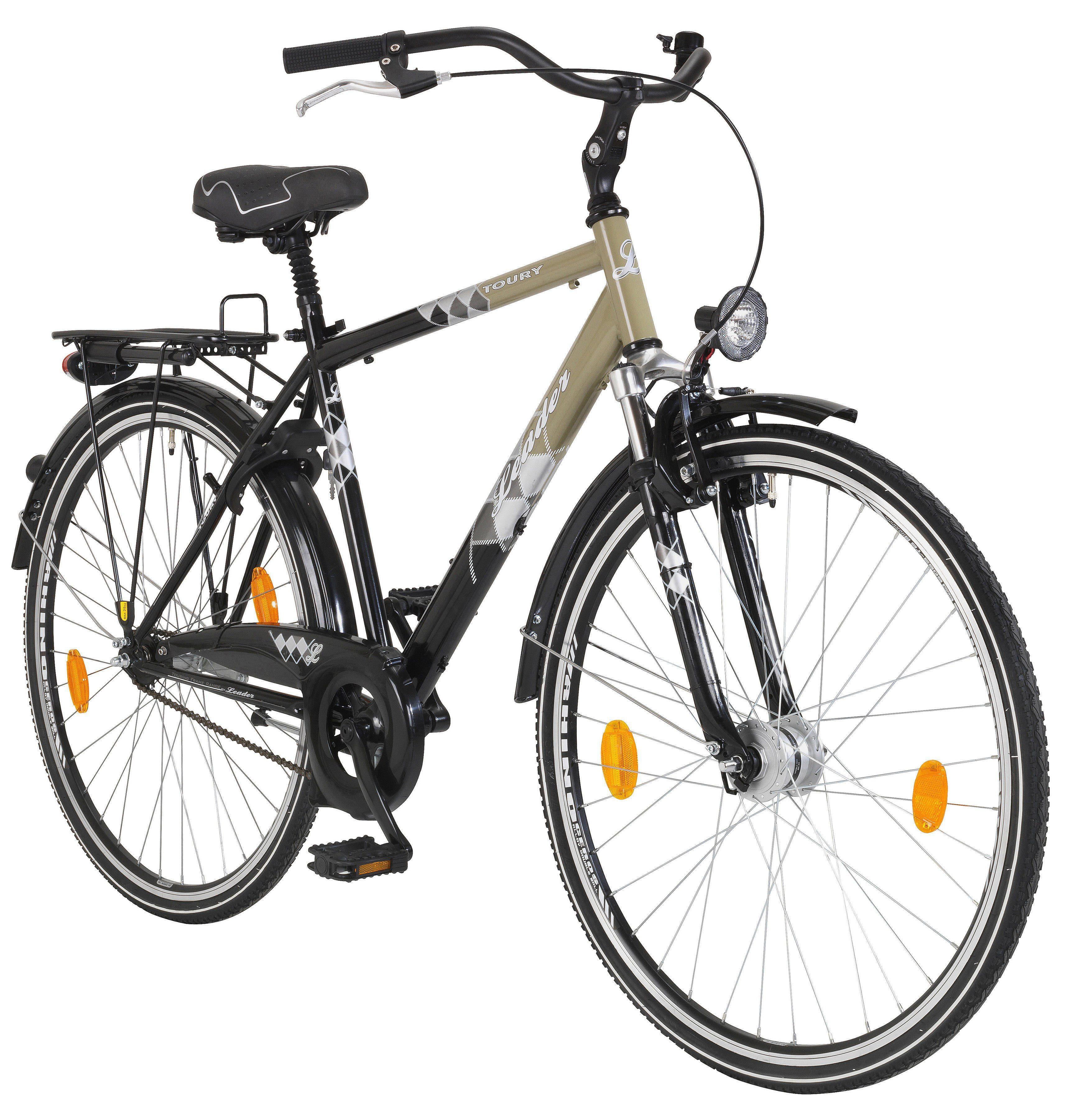 ONUX Citybike Herren »Toury«, 28 Zoll, 1 Gang, Rücktrittbremse