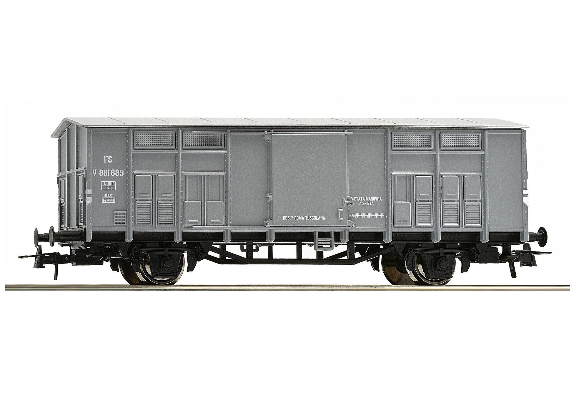 Roco Güterwagen, Spur H0, »Gedeckter Güterwagen der FS - Gleichstrom«