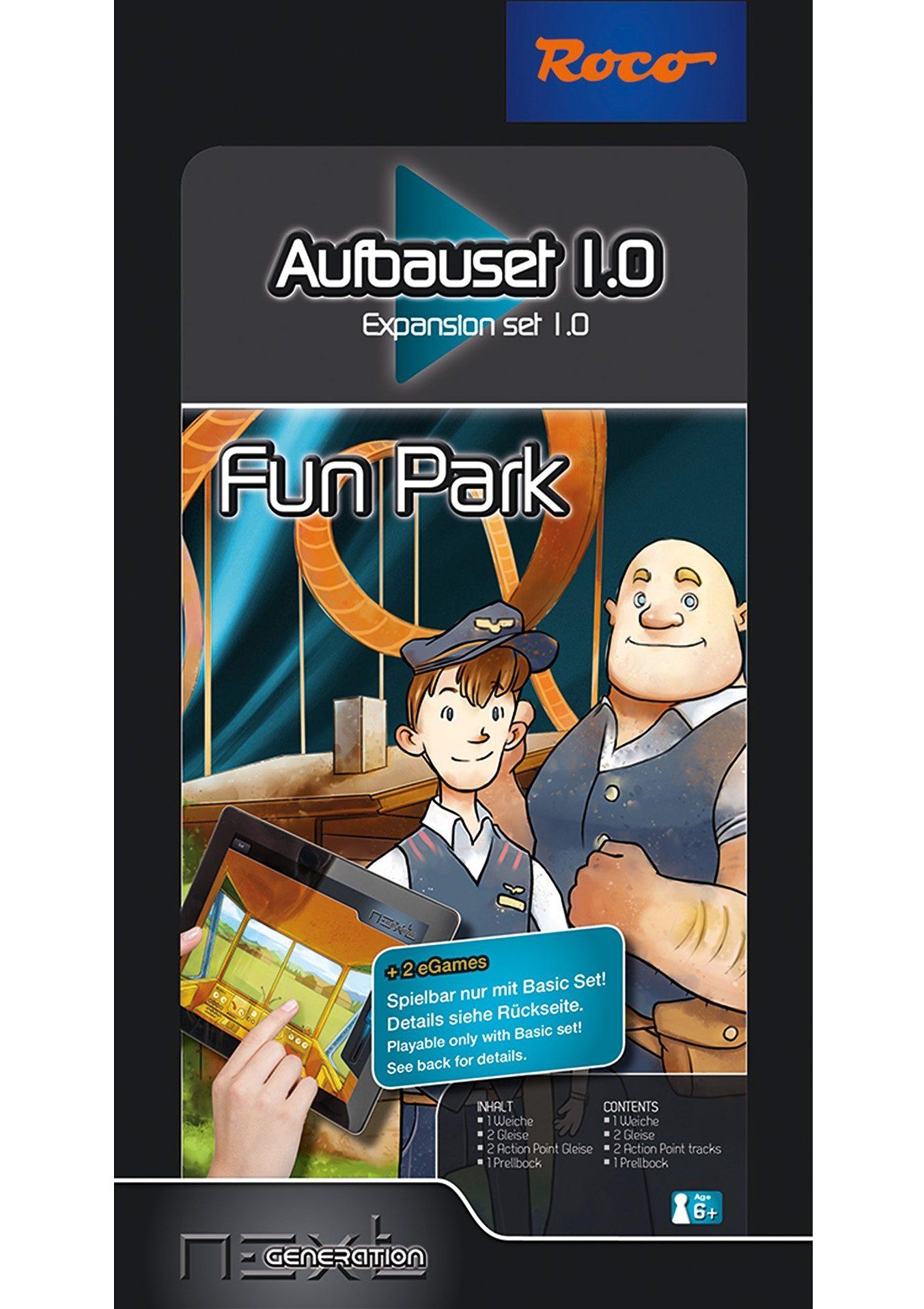 Roco Ergänzungs-Set, Spur H0, »Next Generation - Fun Park - Aufbauset - Gleichstrom«