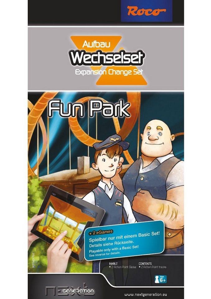 Roco Erweiterungs-Set, Spur H0, »Next Generation - Fun Park - Wechsel-Aufbauset«