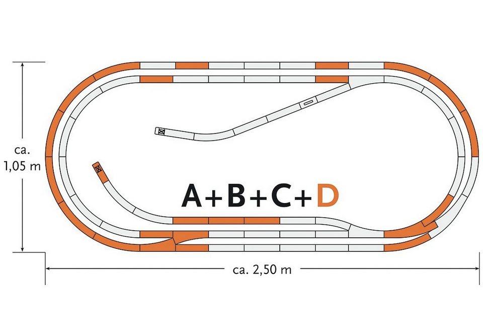 Roco Schienenset, Spur H0, »Gleisergänzungsset D - Gleichstrom«