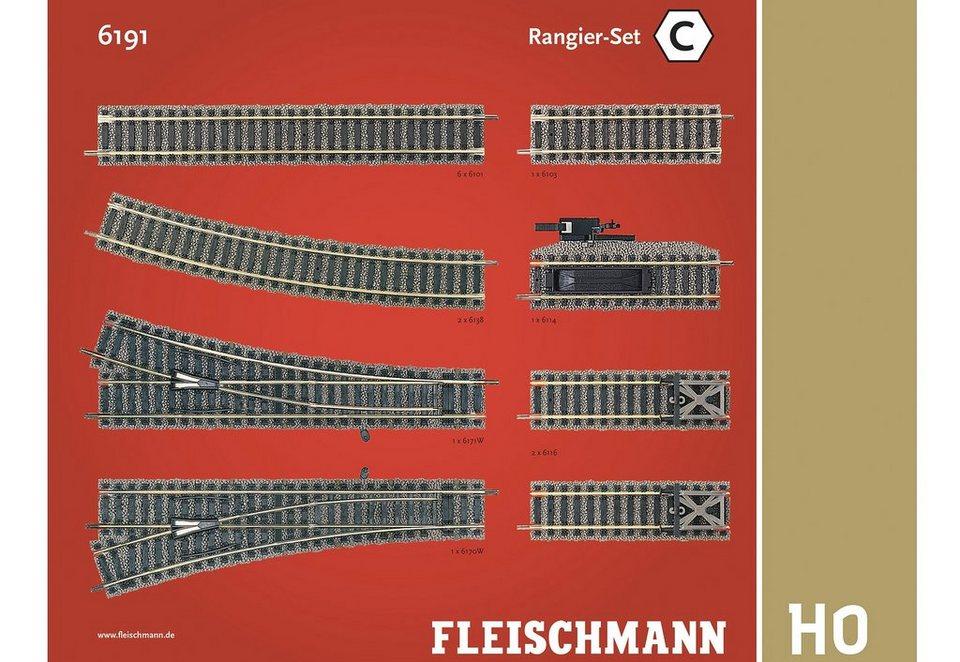 Fleischmann® Set: Schienen-Ergänzung, Spur H0, »Rangier Set«