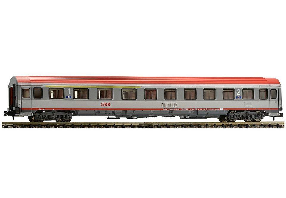 Fleischmann® Personenwagen, »Eurofirma-Wagen 1./2. Klasse, ÖBB - Gleichstrom« in grau/rot
