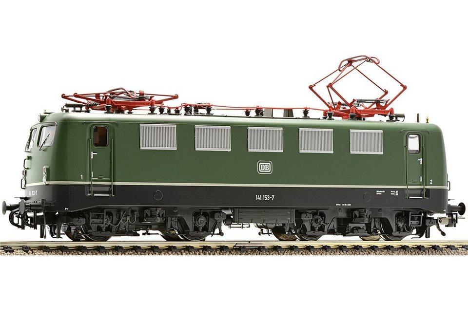 Fleischmann® Elektrolokomotive, »E-Lok, BR 141, DB, grün - Gleichstrom« in grün