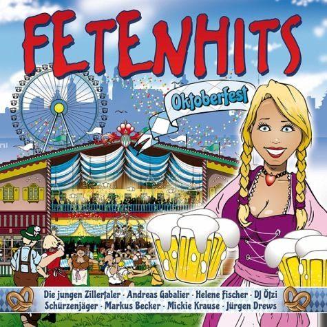 Audio CD »Various: Fetenhits Oktoberfest«