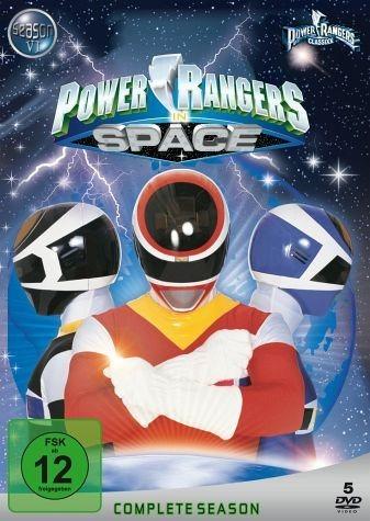 DVD »Power Rangers in Space - Complete Season (5...«