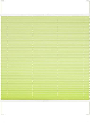 Dachfensterplissee nach Maß »Dena«, Good Life, Lichtschutz, mit Bohren, verspannt, Schienenfarbe in weiß