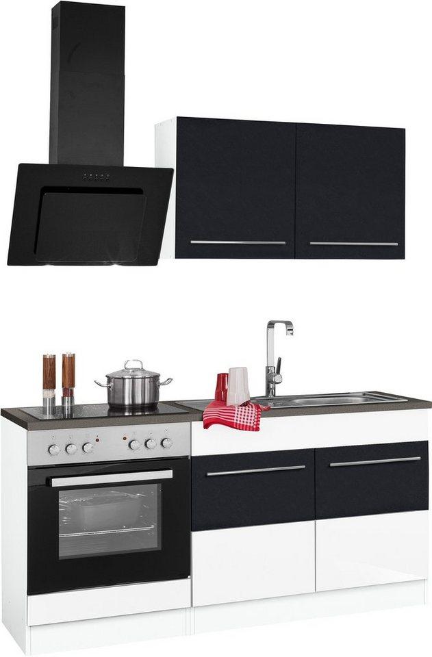 HELD MÖBEL Küchenzeile mit E-Geräten »Trient«, Breite 160 cm ...