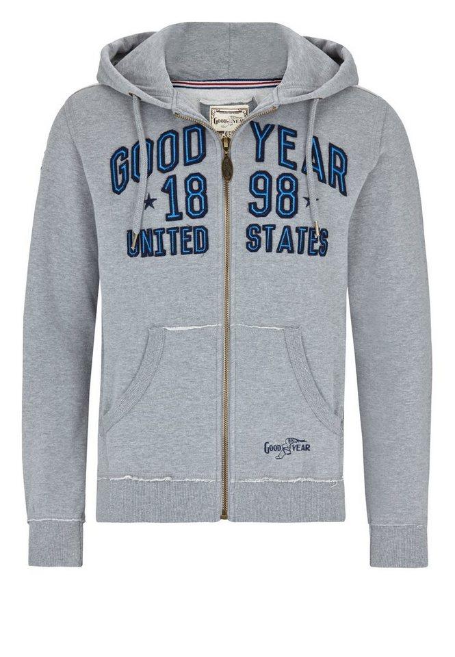 Goodyear Jacke SIMCOE »SIMCOE« in Marl Grey