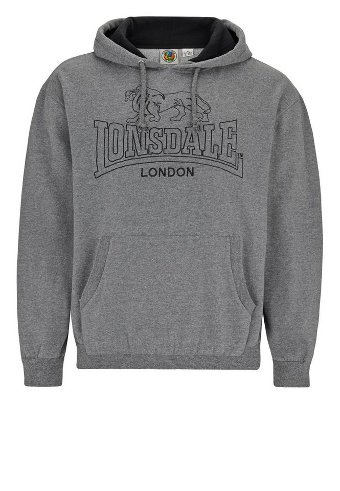 Lonsdale Sweatshirt in Marl Ash