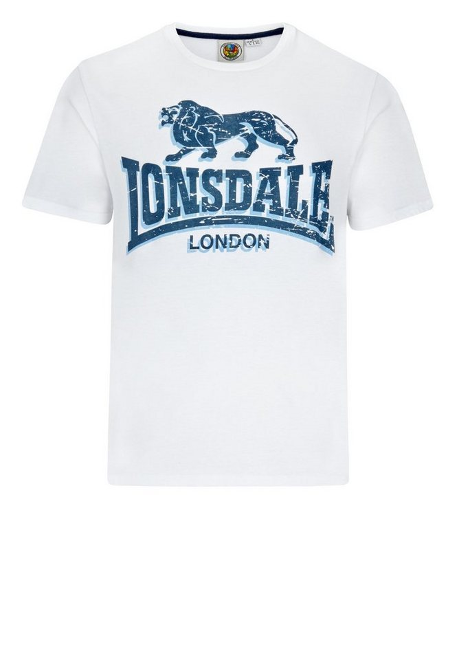Lonsdale T-Shirt »STONE« in White