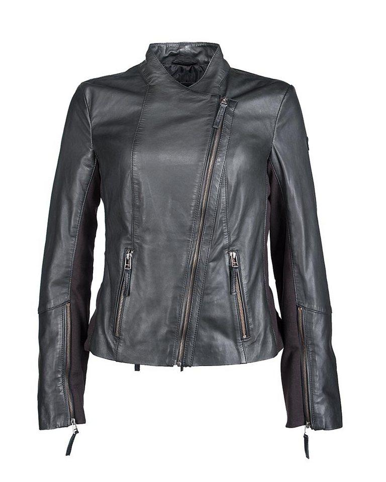JCC Lederjacke Damen »Despina-II« in black