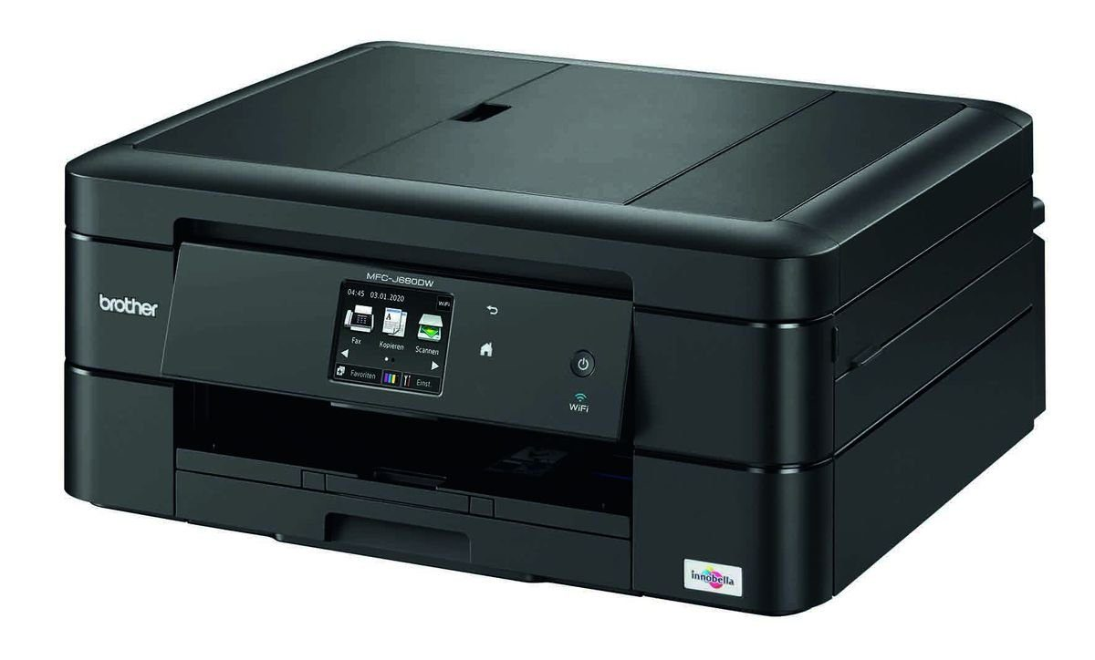 Brother Tintenstrahl-Multifunktionsdrucker »MFC-J680DW 4in1«