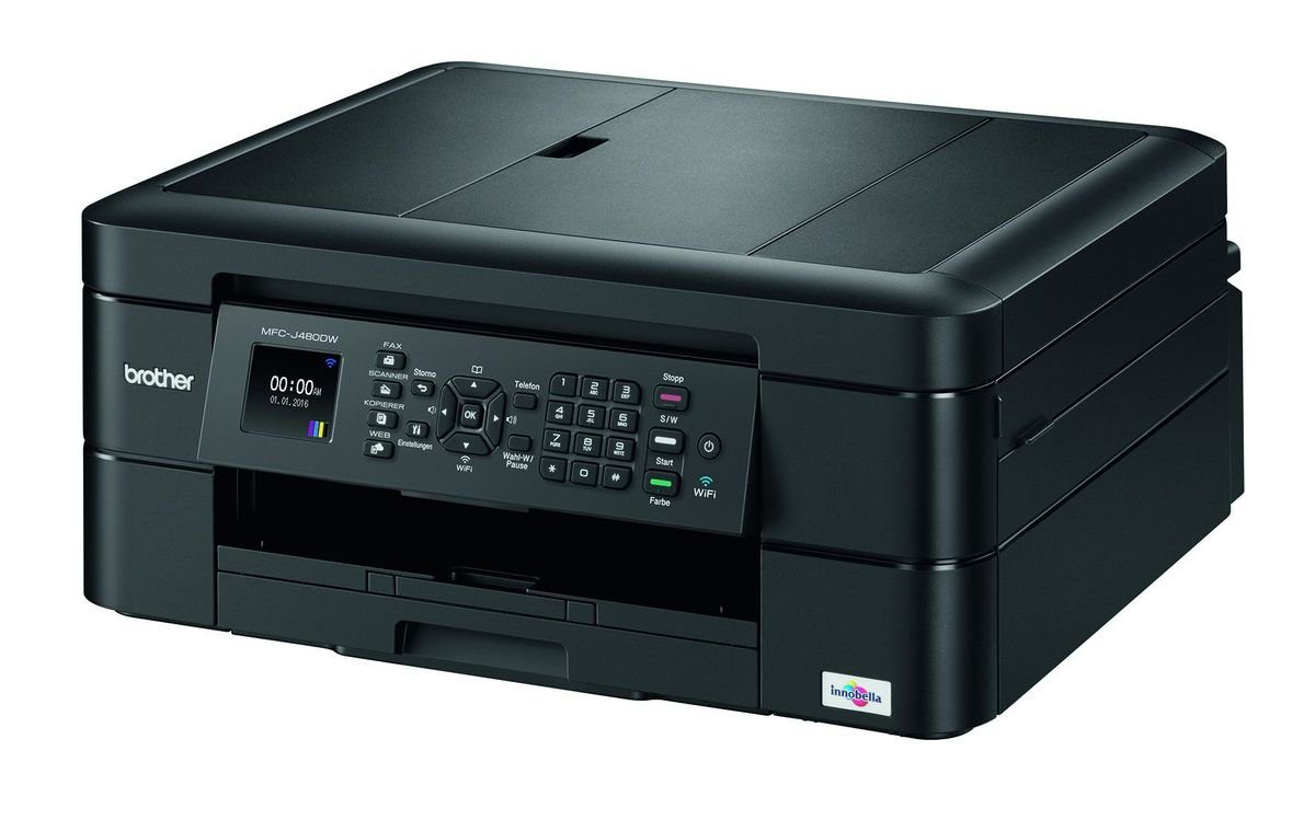 Brother Tintenstrahl-Multifunktionsdrucker »MFC-J480DW 4in1«