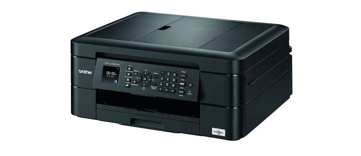 Brother Tintenstrahl-Multifunktionsdrucker »MFC-J480DW 4in1«