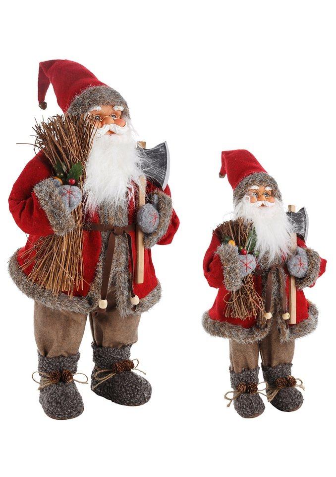 Weihnachtsmann in rot