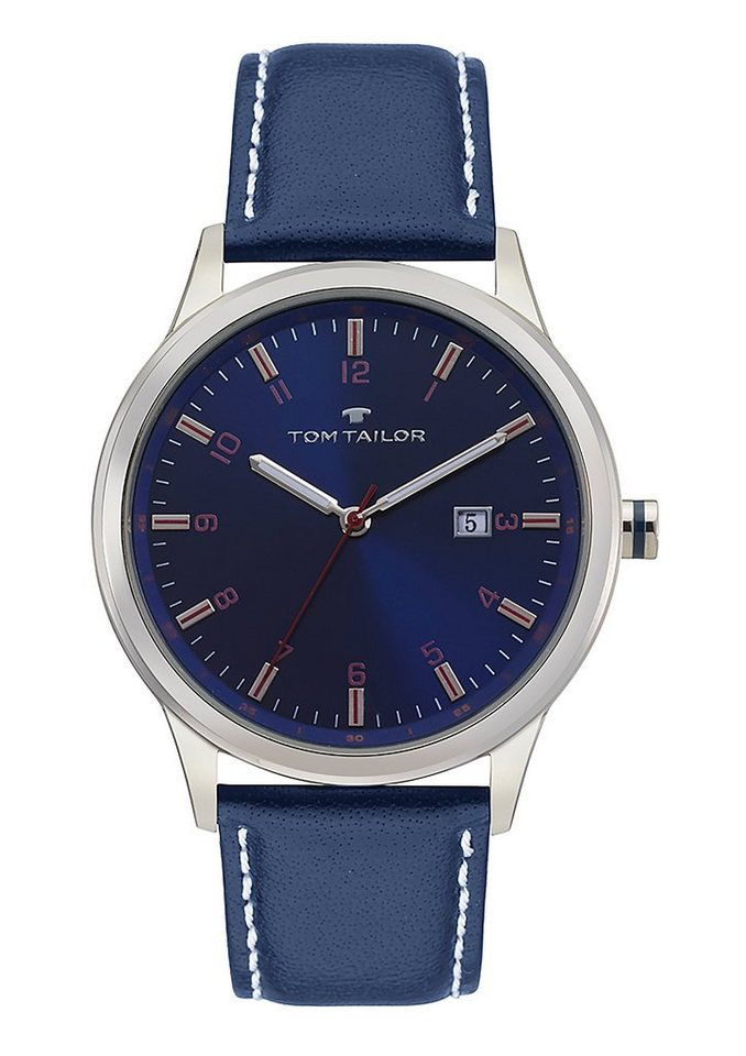 Tom Tailor Quarzuhr »5415003« in blau