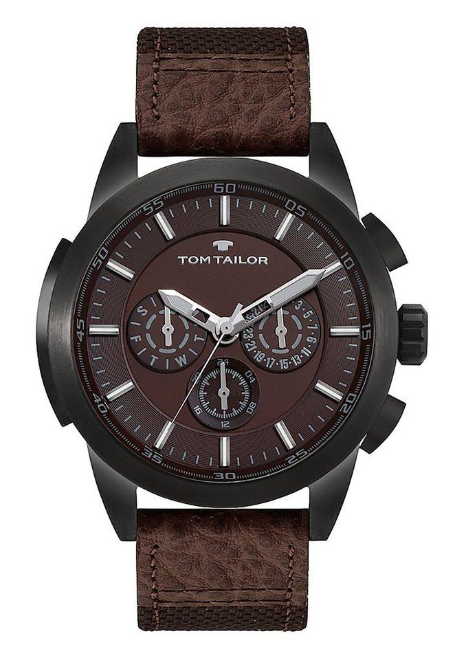Tom Tailor Multifunktionsuhr »5414902« in braun