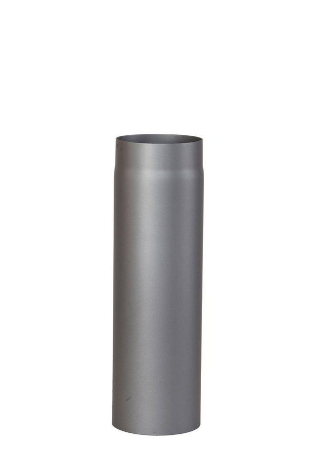 Rauchrohr »1000 mm Länge in Grau«, Ø 150 mm, Ofenrohr für Kaminöfen in grau