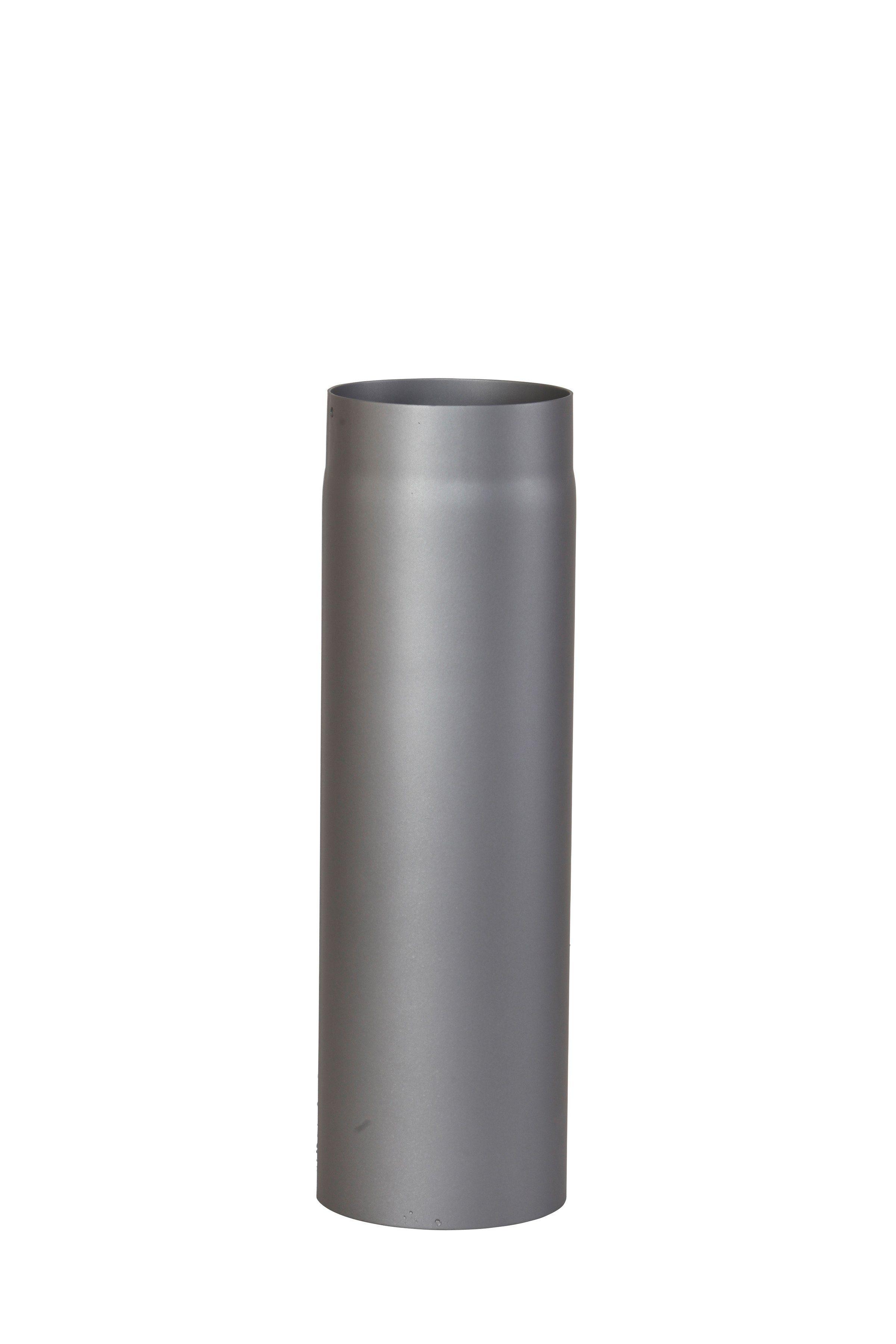 Rauchrohr »1000 mm Länge in Grau«, Ø 150 mm, Ofenrohr für Kaminöfen