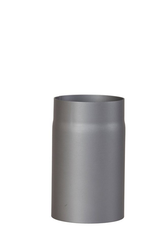 Rauchrohr »250 mm Länge in Grau«, Ø 150 mm, Ofenrohr für Kaminöfen in grau