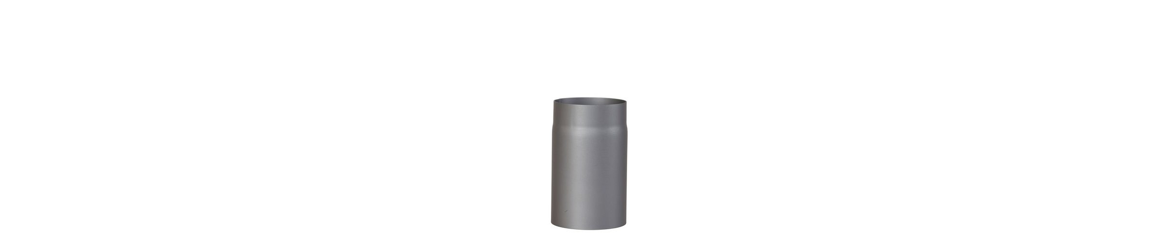 Rauchrohr »250 mm Länge in Grau«, Ø 150 mm, Ofenrohr für Kaminöfen